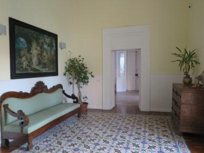 seconda sala del B&B palazzo Mirelli